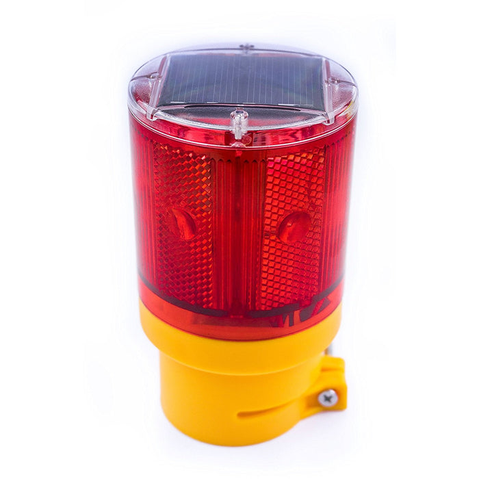 Solar Powered Emergency LED Strobe Lamp Lights - WLIGHT-ST-RD - RK Safety