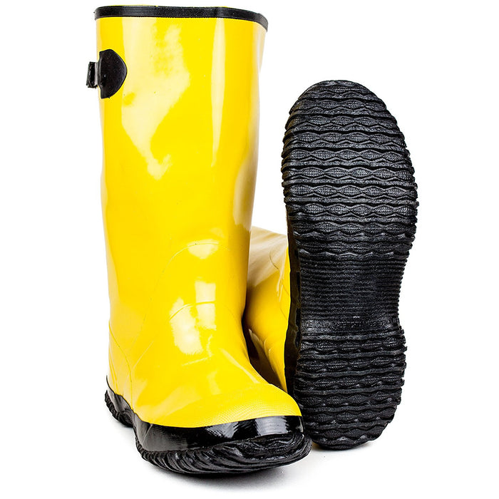 RK Safety Over-The-Shoe Yellow Slush Boots - RK Safety