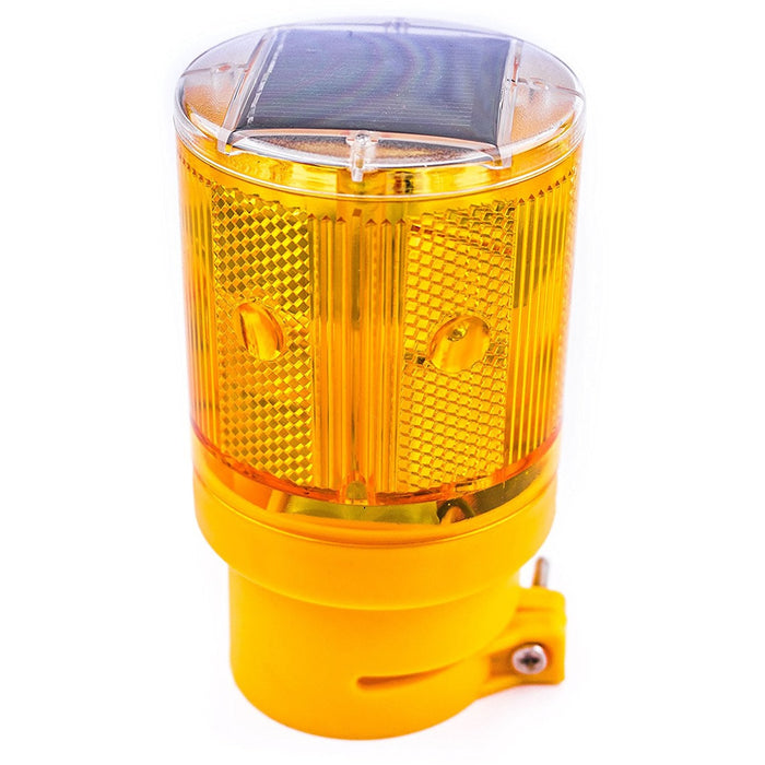 Solar Powered Emergency LED Strobe Lamp Lights - WLIGHT-ST-YW-RK Safety-RK Safety