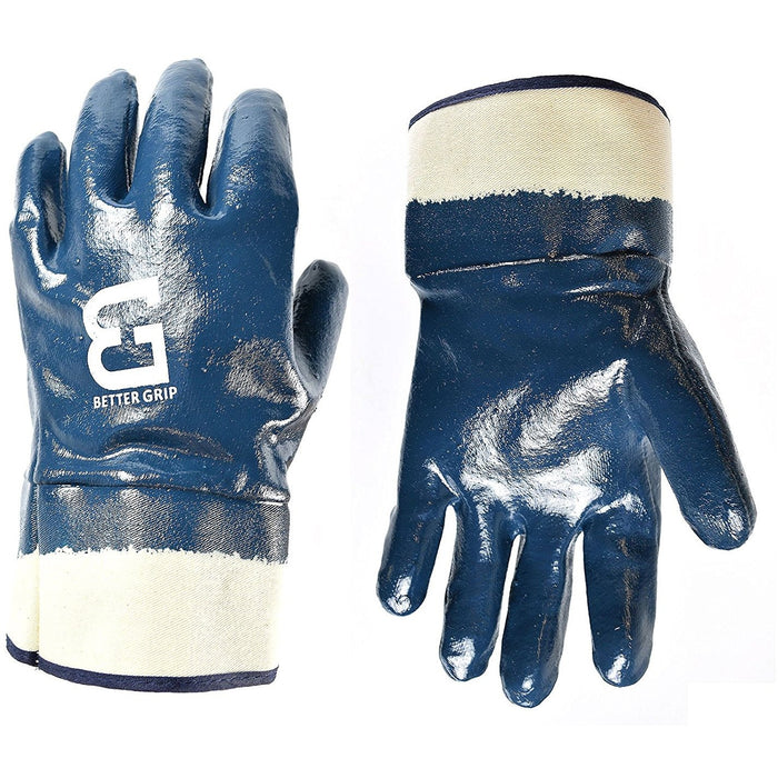Better Grip® Nitrile Coated Gloves, Chemical Resistant - BG105NITRILE-Better Grip-RK Safety
