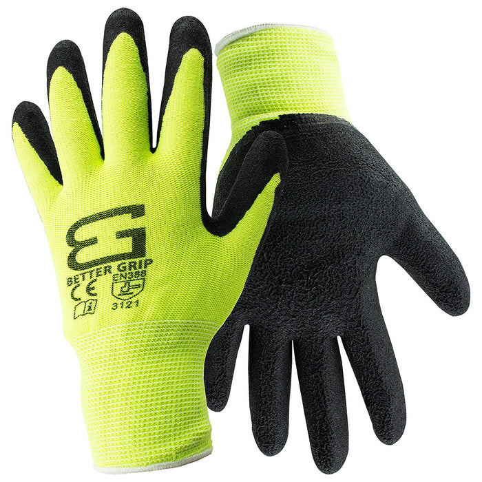 Better Grip® Polyester Foam Latex Coated Work Gloves - BGF - RK Safety