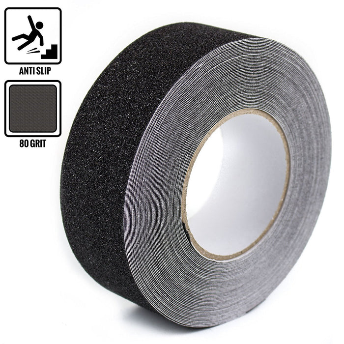 "RK Safety 2"" x 60"" Anti Slip Track Tape Black Color-RK Safety-RK Safety"