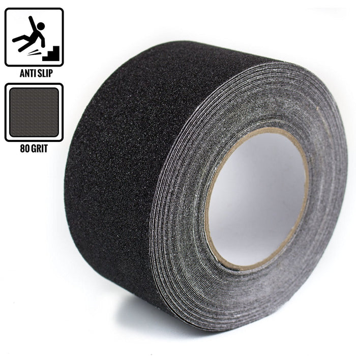 "RK Safety 3"" x 60"" Anti Slip Track Tape Black Color-RK Safety-RK Safety"
