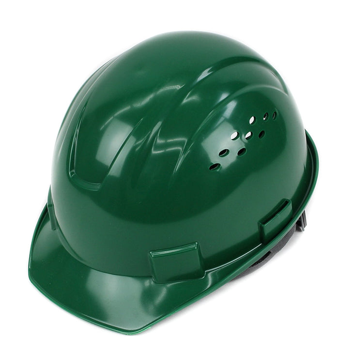 RK Safety RK-HP14-DG Hard Hat Cap Style with 4 Point Ratchet Suspension (Dark green) - RK Safety