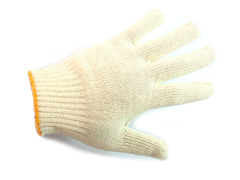 300 Pairs String Knit Red Palm Latex Dipped Gloves, Made in Korea -WRGKR300W/B, 300 Pairs String Knit White Poly Cotton Work Gloves, Made in Korea-WCGKR300-RK Safety-RK Safety