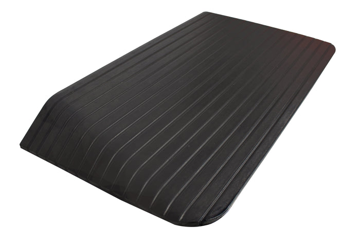 RK Safety RK-RTR05 Rise Solid Rubber Power Wheelchair Scooter Threshold Ramp (1 pcs, 35'' x 18'' x 3'')-RK Safety-RK Safety