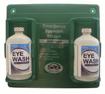 Pack of 2, SAS Safety 5132 Personal Eyewash Station - RK Safety