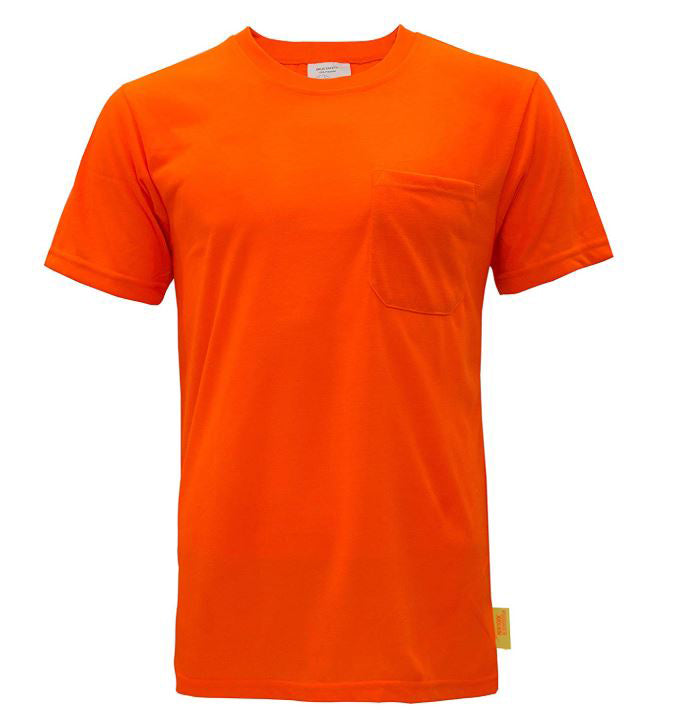 Short Sleeve High-Vis Force Color Enhanced Safety Shirt - S3111-New York Hi-Viz Workwear-RK Safety