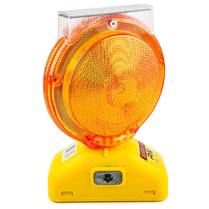 Rechargeable Solar Barricade Amber LED Warning Lights - BLIGHT-ST-RK Safety-RK Safety