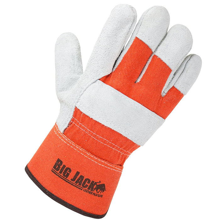 Better Grip® Cowhide Palm Gloves with rubberized safety cuff - BGBY22O-Better Grip-RK Safety