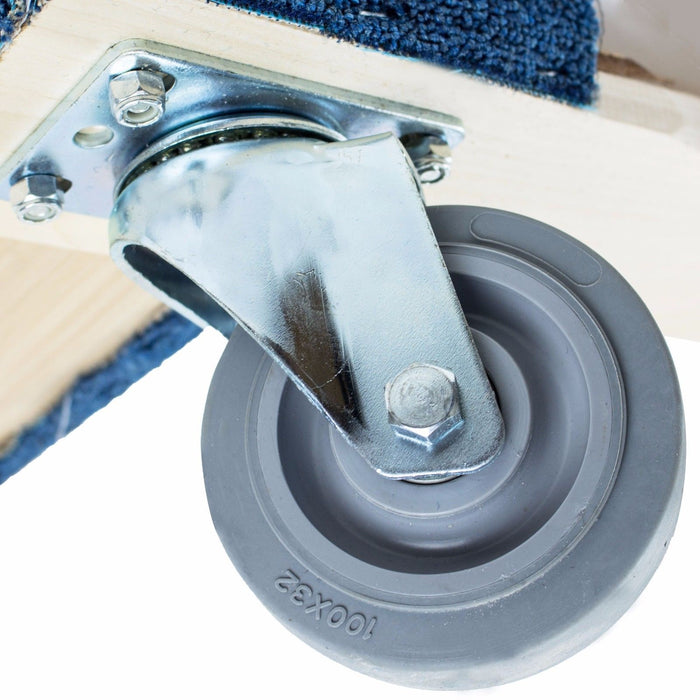 "Set of 100, NK Furniture Movers Dolly, Non-marking 3"" TPR Wheels, - RK Safety"