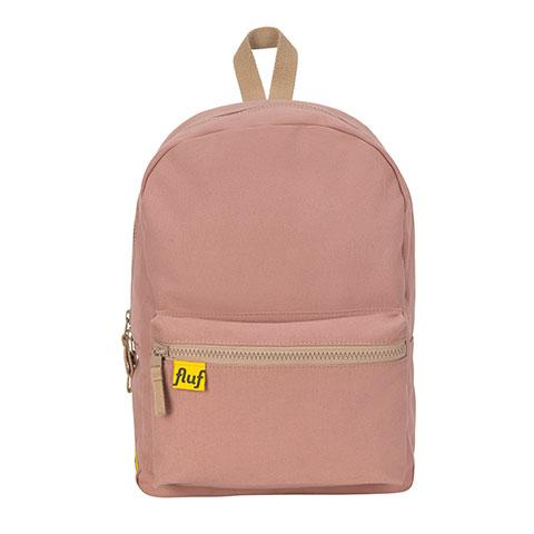 B Pack Mauve Organic Cotton Backpack Front