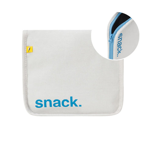 Snack Mat - 'Snack' Blue with Blue Zip