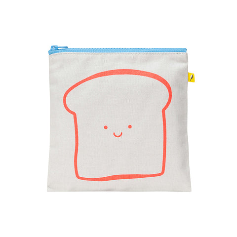 Zip Snack Sack - Bread Orange (Sandwich Size)