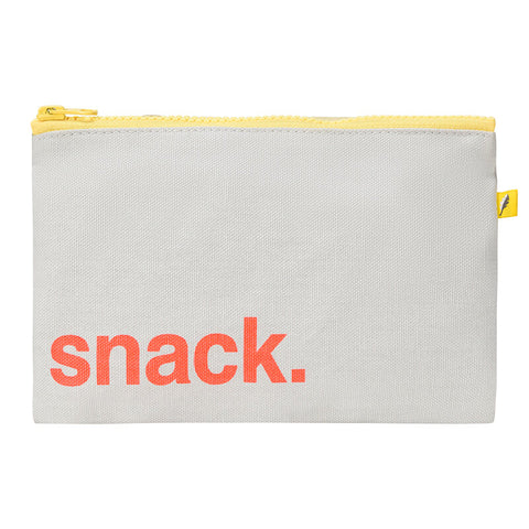 Zip Snack Sack - 'Snack' Orange (Snack Size)