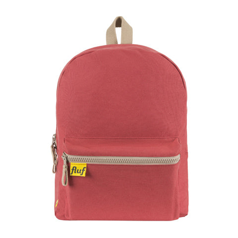 Fluf B Pack Backpack Brick Red