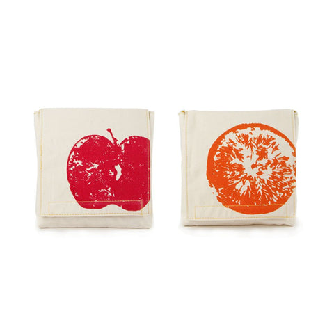 Snack Packs - APPLES & ORANGES (Pack of 2)