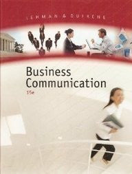 Business Communication, 15th Edition