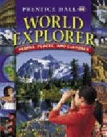 WORLD EXPLORER: PEOPLE, PLACES, AND CULTURES ITEXT CD-ROM FIRST         EDITION 2003