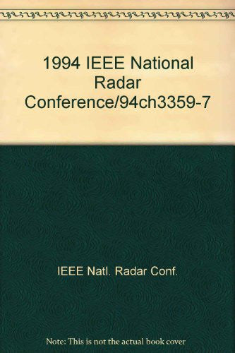 1994 IEEE National Radar Conference/94Ch3359-7