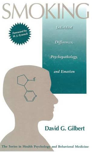 Smoking: Individual Differences, Psychopathology, And Emotion (Series in Health Psychology and Behavioral Medicine)