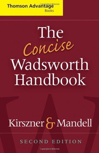 The Concise Wadsworth Handbook (Cengage Advantage Books)