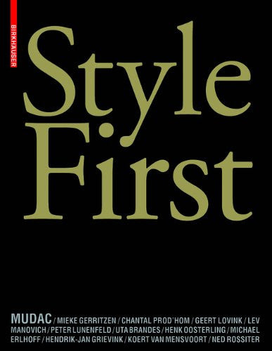Style First (German, English and French Edition)