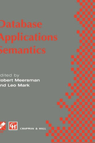 Database Applications Semantics (IFIP Advances in Information and Communication Technology)