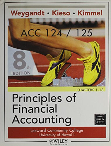 (WCS)Principles of Financial Accounting Chapters 1-18, Eighth Edition with Campus Cycle Shop for University of Hawii - Leeward CC