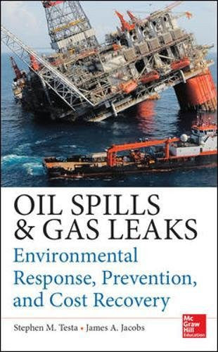 Oil Spills and Gas Leaks: Environmental Response, Prevention and Cost Recovery (Mechanical Engineering)