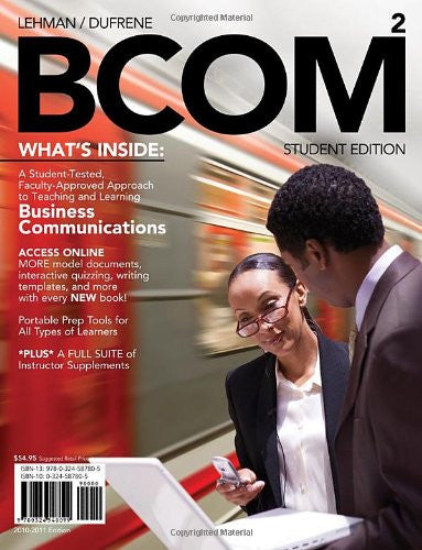 BCOM 2 (with Review Cards and Printed Access Card) (Business Communication)