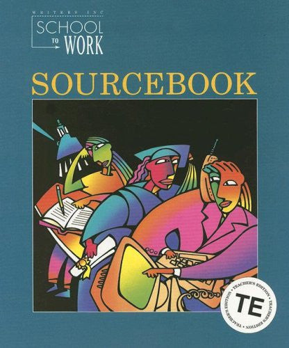 Great Source School to Work: Sourcebook Teacher's Edition  Grade 12 1996 (Write Source 2000 Revision)