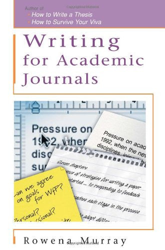 Writing for Academic Journals (Study Skills S)