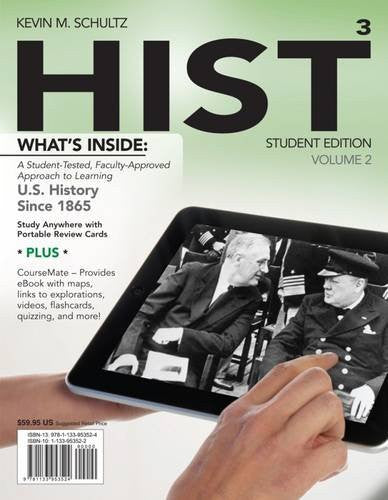 HIST, Volume 2: US History Since 1865 (with CourseMate, 1 term (6 months) Printed Access Card) (New, Engaging Titles from 4LTR Press)