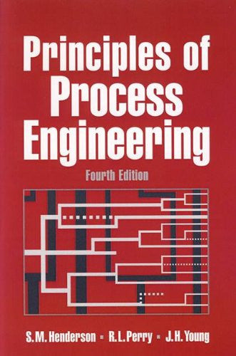Principles of Process Engineering