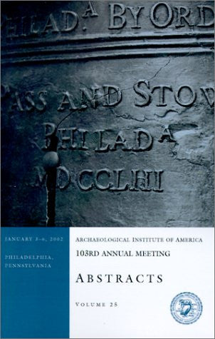 103rd Annual Meeting Abstracts (Volume 25)
