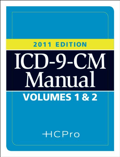 2011 ICD-9 Volumes 1 and 2