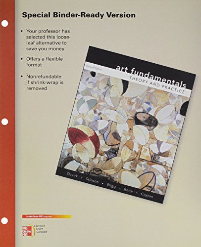 Looseleaf for Art Fundamentals: Theory and Practice