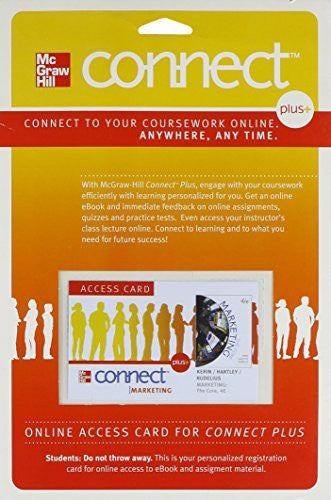 Connect Marketing Plus Access Card for Marketing: The Core