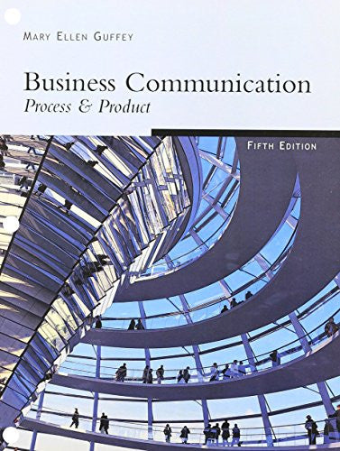 Freedom LL Version: Business Communication: Process & Product