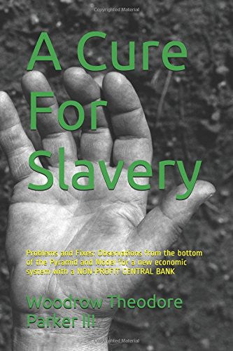 A Cure For Slavery: Problems and Fixes: Observations from the bottom of the Pyramid and Model for a new economic system with a NON-PROFIT CENTRAL BANK