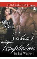Sasha's Temptation [The Five Widows 1] (Siren Publishing Allure)