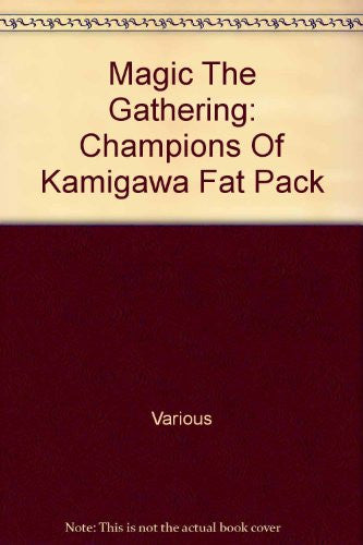 Magic The Gathering: Champions Of Kamigawa Fat Pack