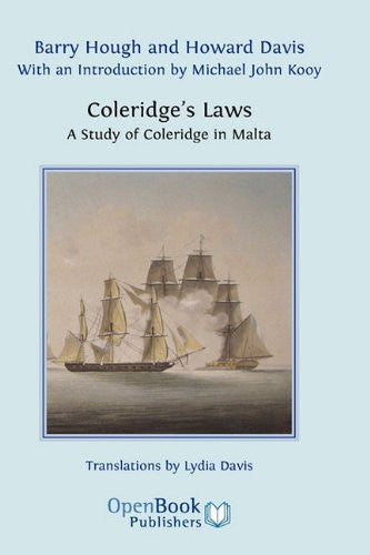 Coleridge's Laws. a Study of Coleridge in Malta.