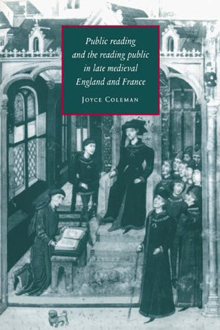 Imagining an English Reading Public, 1150-1400 (Cambridge Studies in Medieval Literature)