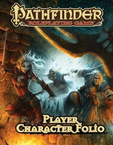 Pathfinder Roleplaying Game Player Character Folio by Jason Bulmahn (Aug 14 2012)