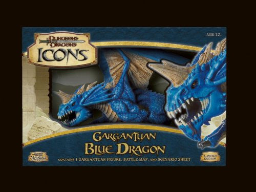Gargantuan Blue Dragon (Dungeons & Dragons Icons)