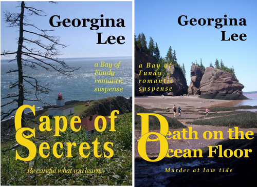 A Bay of Fundy Romantic Suspense (2 Book Series)