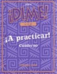 McDougal Littell Dime: Practice Workbook Student's Edition Level 1 (Spanish Edition)