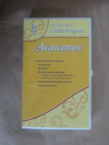 Â¡Avancemos!: Audio CD Program Level 2 (Spanish Edition)